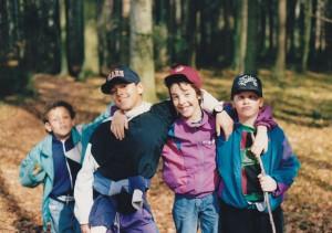 Virgile, Skagit, Ernesto & Florian.