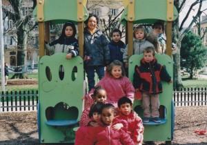 David, Sarah, Thibaud, - , Nëomy Pauline, Arthur, Naïma, Bahia, Maysa & -.