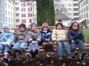 Giulia, Oren, Nicolas, Loïc, Flavio & Guillaume